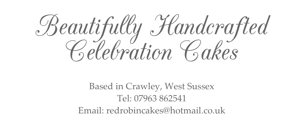 Beautifully Handcrafted Celebration Cakes